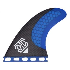HC3 blue surfing fin