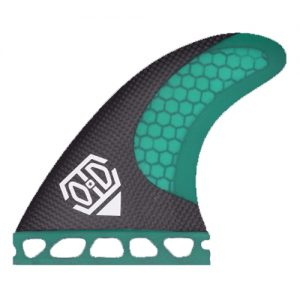 HC3 green surfing fin