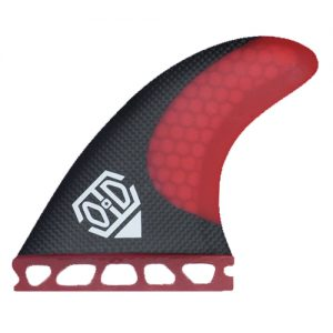 HC3 red surfing fins
