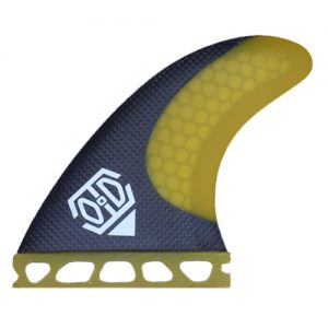 HC3 surfing fin yellow
