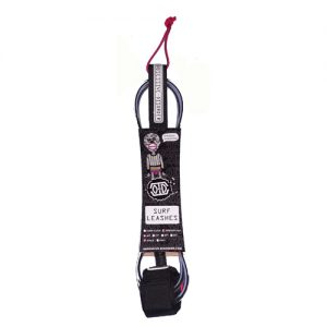 surfing leash red
