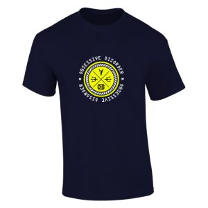 obsessive disorder connect t-shirt navy